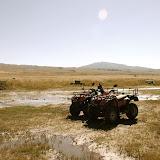 Tianshan - Paysage Buggy et prairie