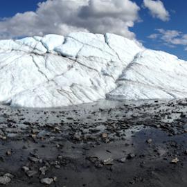 Ice Field by Alexandria Shankweiler - Landscapes Weather ( glacier, winter, cold, blue, ice, alaska, white, frozen )