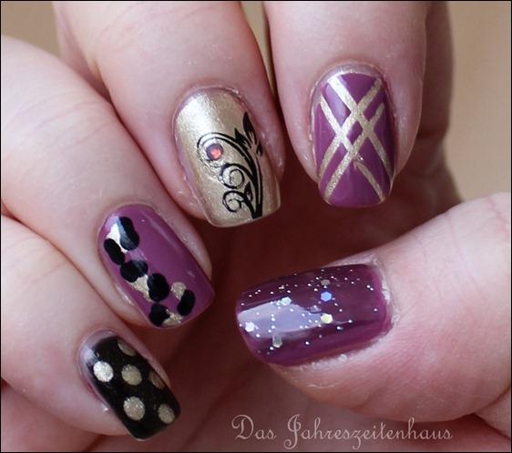 Skittle Nails 4