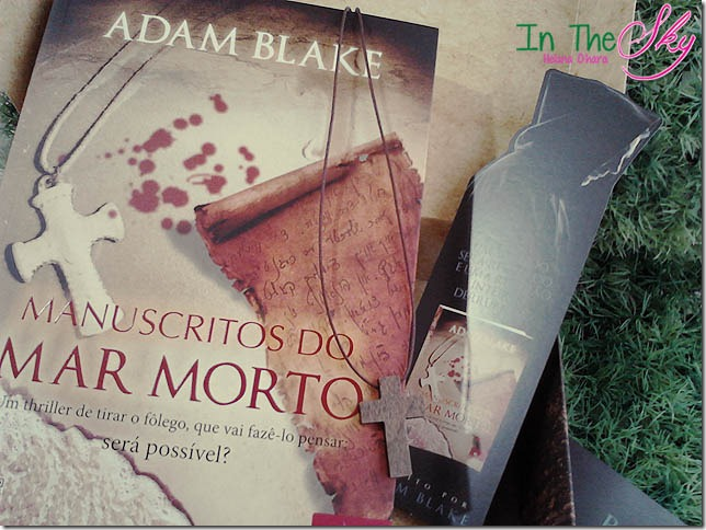 Manuscrito do mar morto, adam blake 01