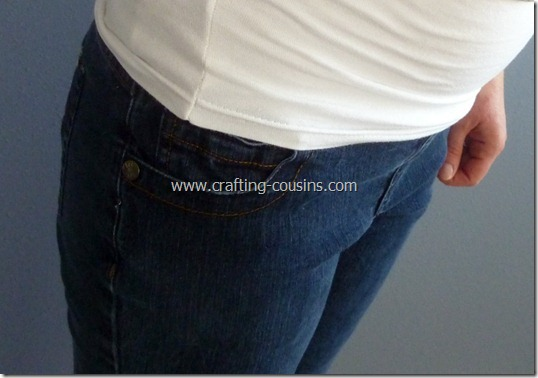 sew your own maternity jeans 3