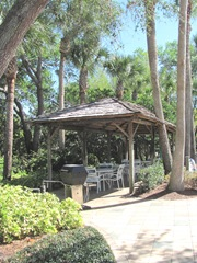 Florida Marriott picnic area