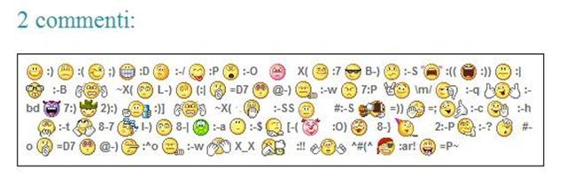 emoticon-combinazione-tasti