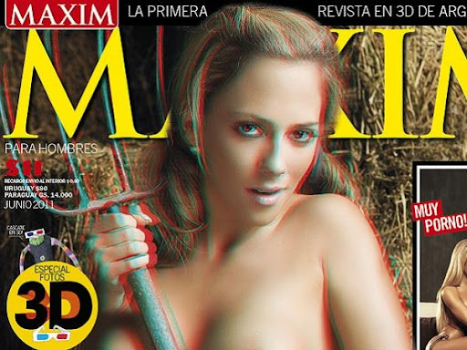 Rocio Gancedo 3D Maxim Argentina Junio 2011