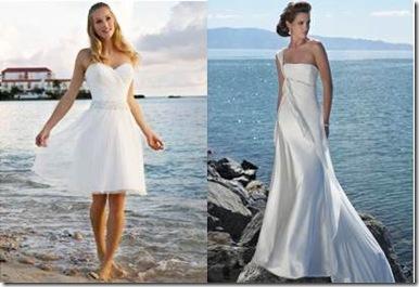 Vestidos de boda en la playa para gorditas