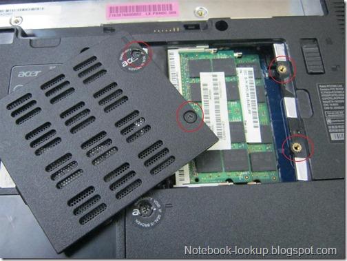 ได้เวลาอัพเกรด Ram 4GB ให้ Acer Aspire 4736Z
