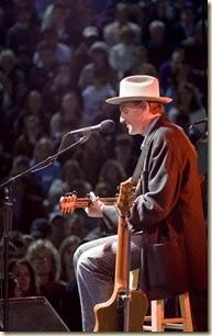 James Taylor at UNC Obama concert