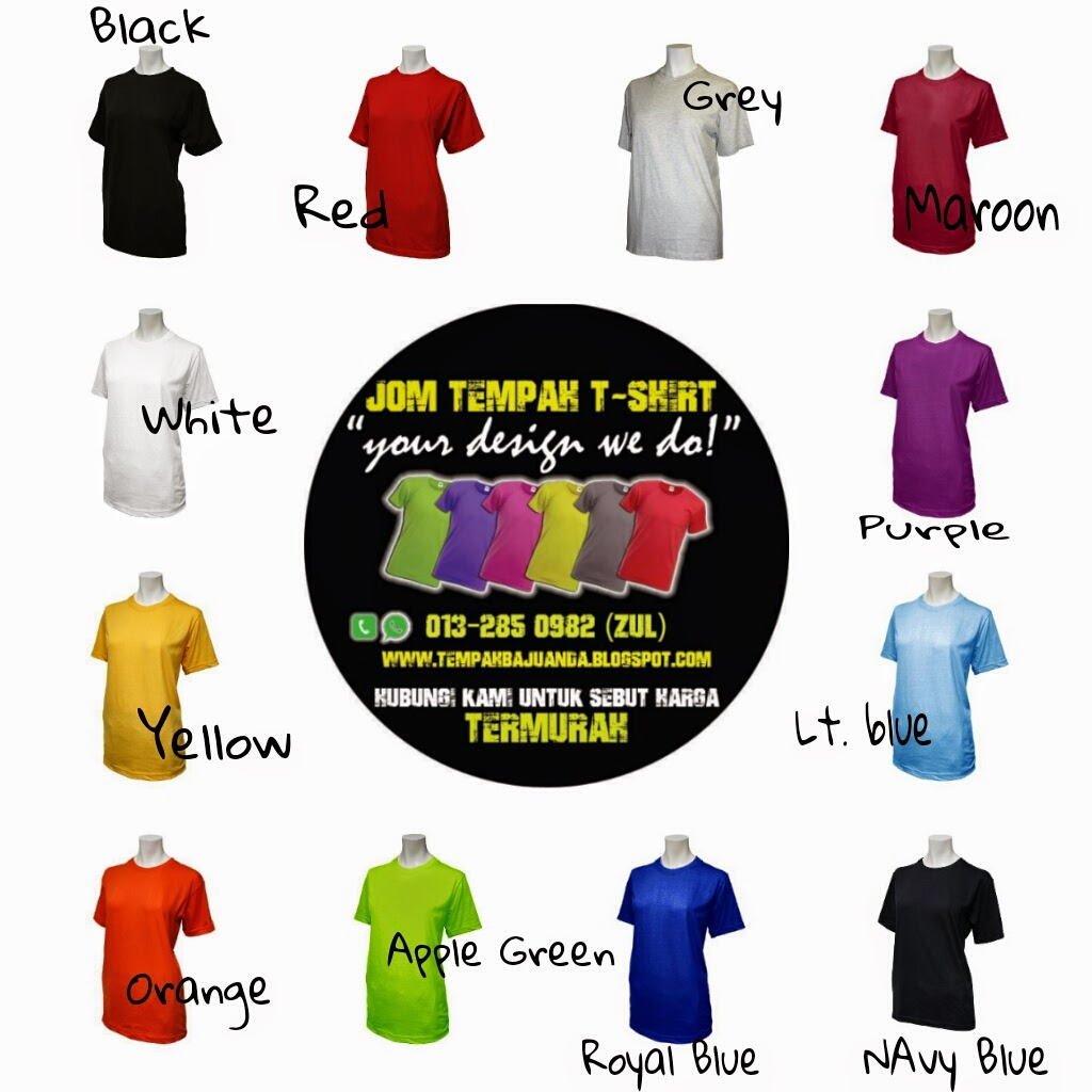 Design t shirt rumah sukan -  Your Design We Do