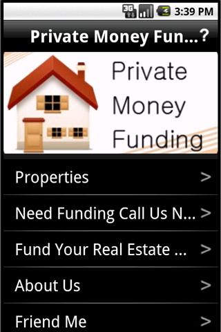 Private Money Funding