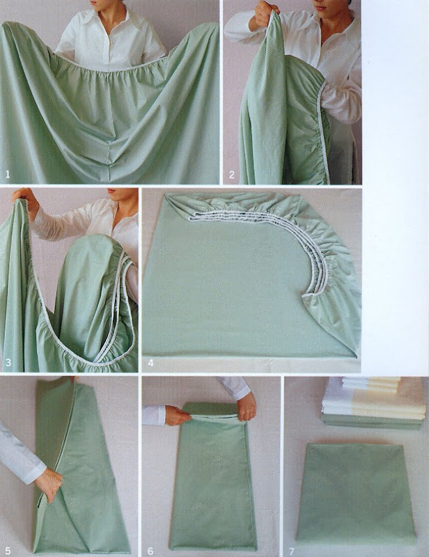 folding fitted sheets