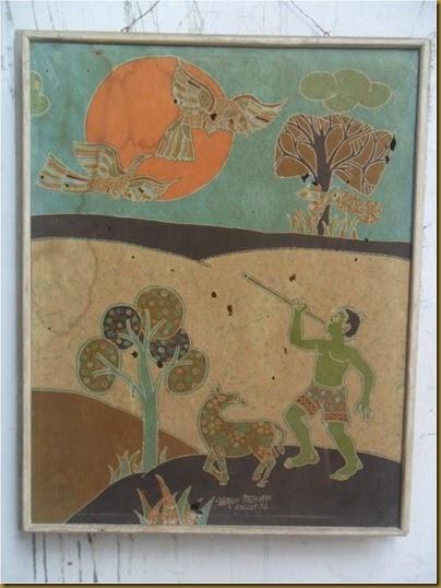 Lukisan batik Mahyar