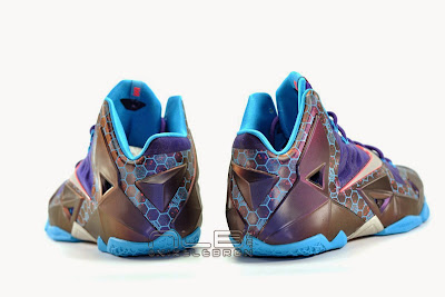 lebron11 summit lake hornets 12 web white The Showcase: Nike LeBron XI Summit Lake Hornets