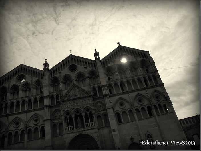 Pic of the day: ovvero la foto di oggi 25/09/2013, Cattedrale Ferrara