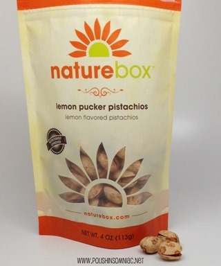 NatureBox Lemon Pucker Pistachios