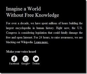 Wikipedia en huelga