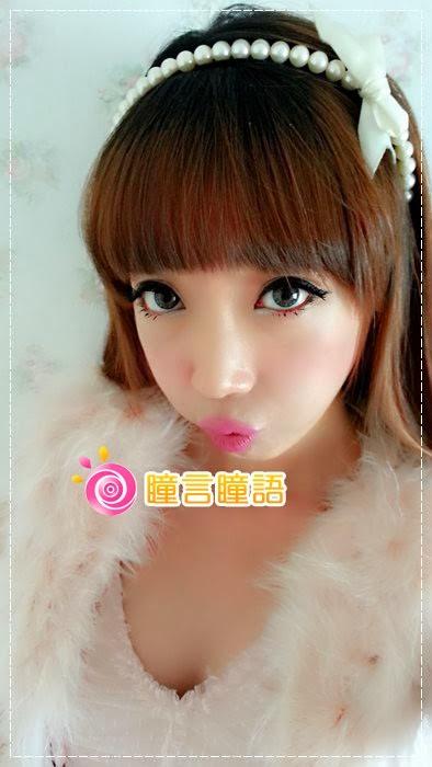 韓國GEO隱形眼鏡-GEO Eyes Cream 霜淇淋灰13