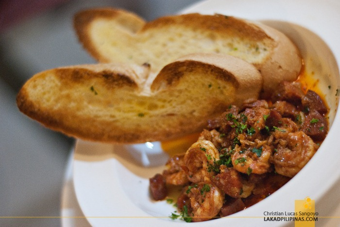 Millie's Gambas at Microtel MOA