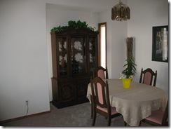 before of dining area
