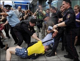 protesto russia