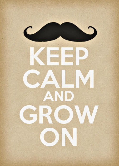 Keep calm stache