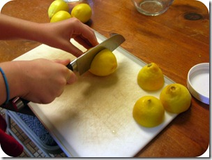MG cutting lemons
