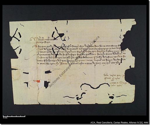 Cancillería Cartas Reales