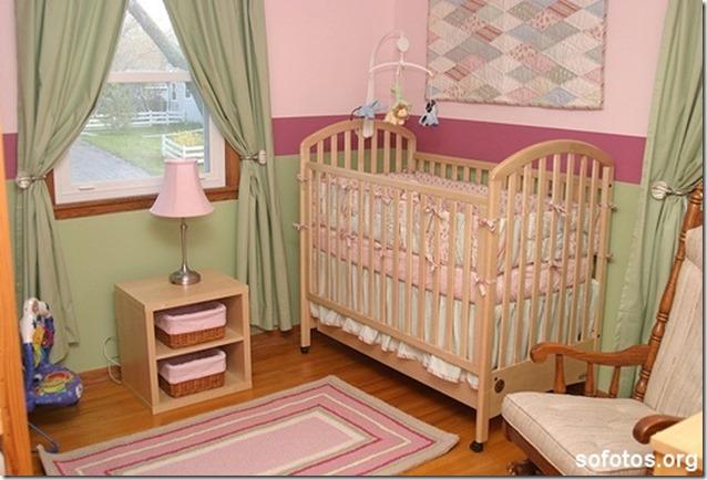 quarto-de-bebe-verde-e-rosa