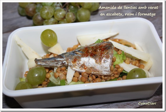 1-1-amanida llenties escabetx raïm-cuinadiari-carmanyola