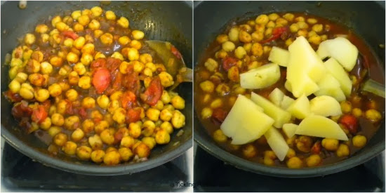 How to make Aloo Chana Masala Recipe