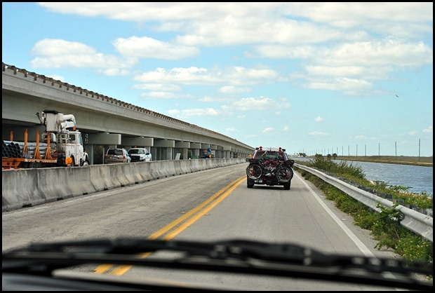 08 - Construction Zone on Route 41 - Tamiami Trail