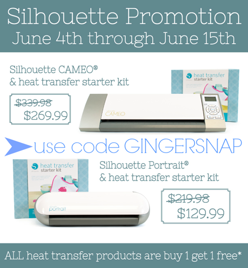 Silhouette June promotion