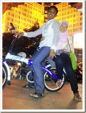 Bersepeda Malam Minggu di Simpang Lima 2