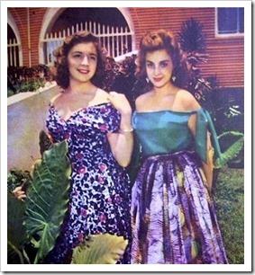Vanessa Frappier y Ana Sanchez 1955
