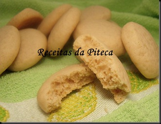 Bolachas Belgas de caramelo-interior