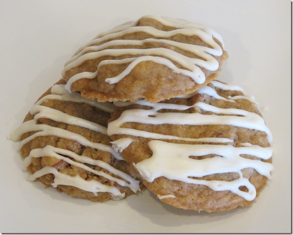 Glazed Maple Pecan Cookies 2