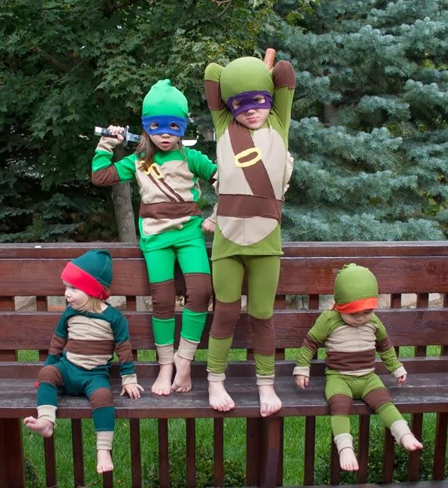 TMNT Teenage Mutant Ninja Turtles Costume sew a straight line-3
