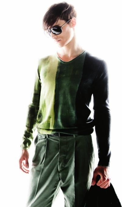David McKnight for Emporio Armani lookbook S/S 2012.