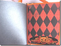 Halloween never ending journal 2011 harlequin signature pg