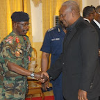 tn_PREZ MAHAMA IN A HAND SHAKE WITH C.D.S BLAY DURING THEIR VISIT.JPG