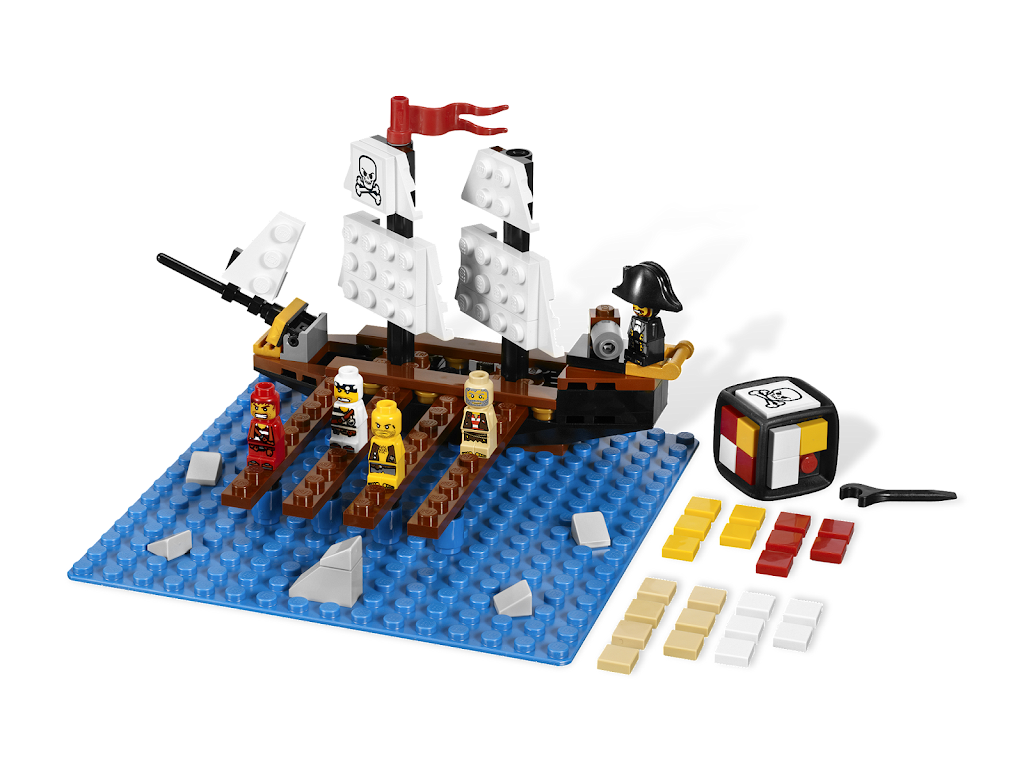 lego pirate ship instructions 6274