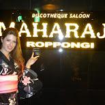heather at Maharaja in Roppongi in Roppongi, Tokyo, Japan