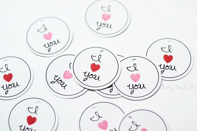 Valentine Tag Printable from Hubby Made Me