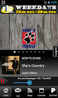 Screenshot of Seattle Wolf - 100.7 - KKWF-FM