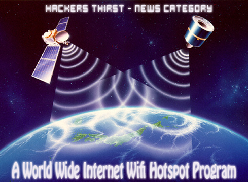 Hackers Satellite internet