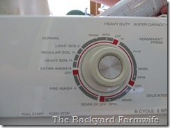 washing machine makeover - The Backyard Farmwife
