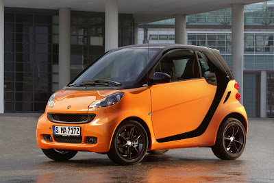 Smart ForTwo NightOrange Coupé (2011) Front Side
