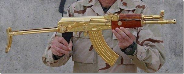 Armas de Ouro de Saddam Hussein (10)
