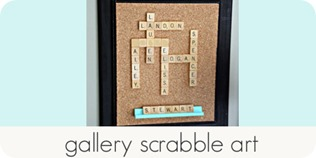 gallery scrabble art