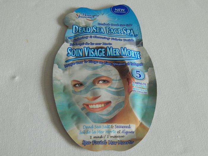 Montagne Jeunesse Face Mask Dead Sea Face Spa