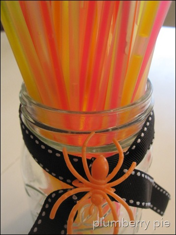 glow stick jar close up 2